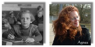 Agnes - 1. Klasse und heute