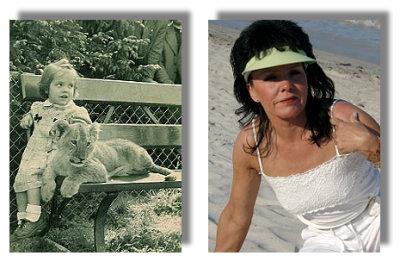 Brigitte die Löwenbändigerin und heute