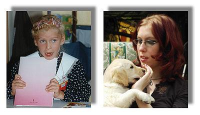 Cindy - als 6-jährige und heute (18)