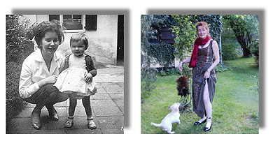 Mari als knapp 2-jährige und 2005
