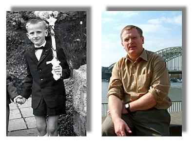 Peter - damals und heute