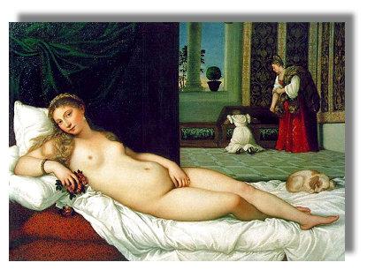 Tizian, Venus von Urbino, 1538, Florenz