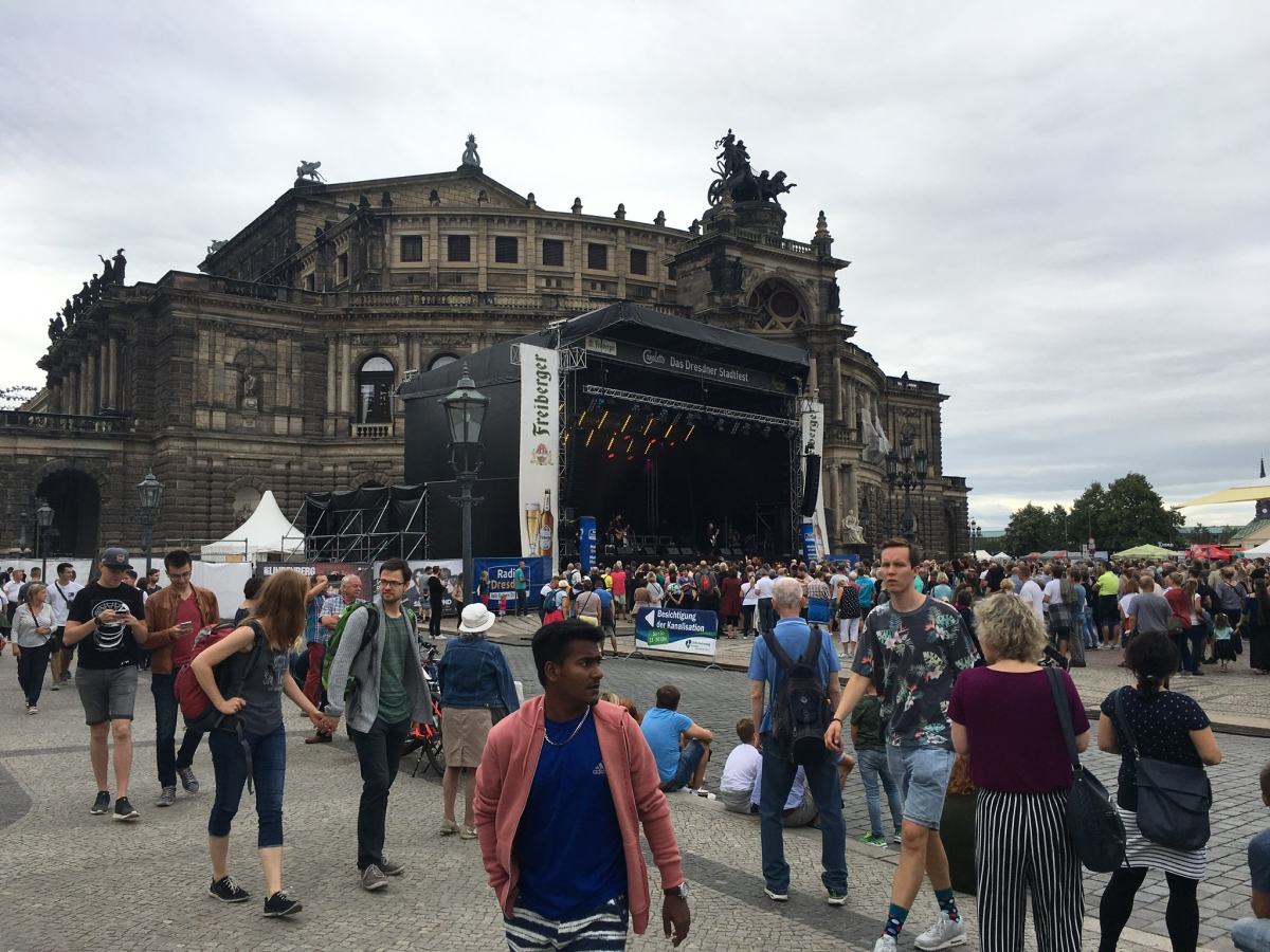 Konzert an der Semperoper