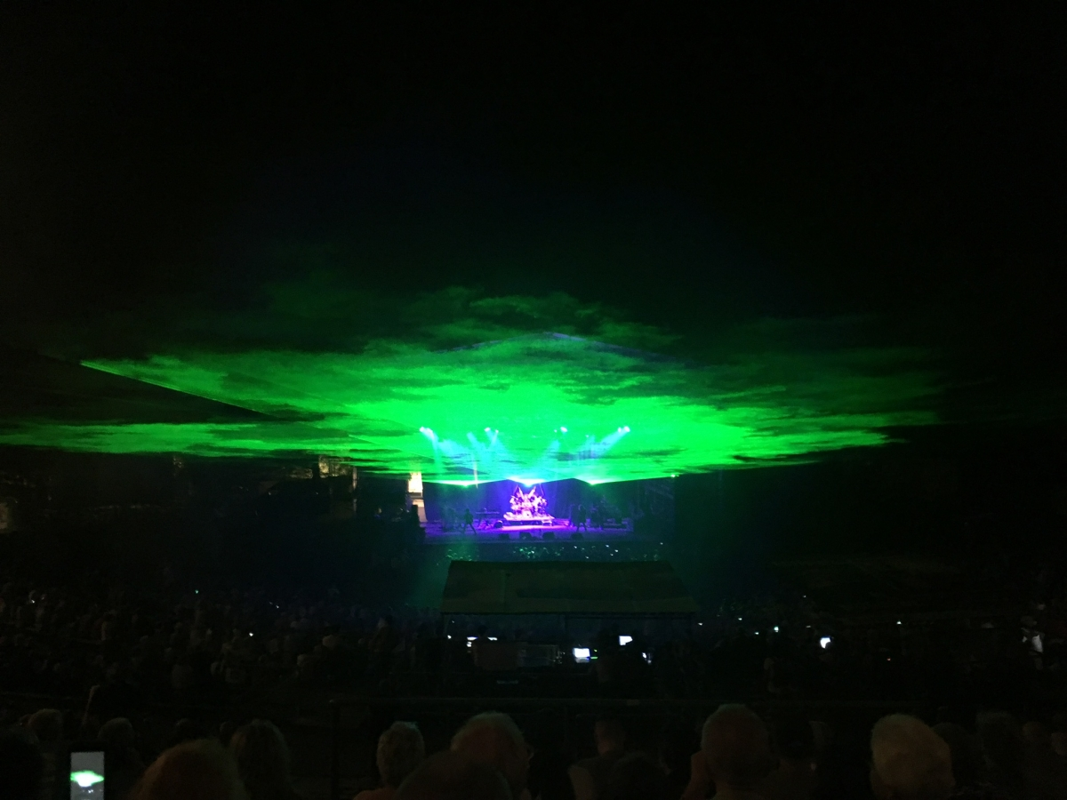 Tolle Lasershow