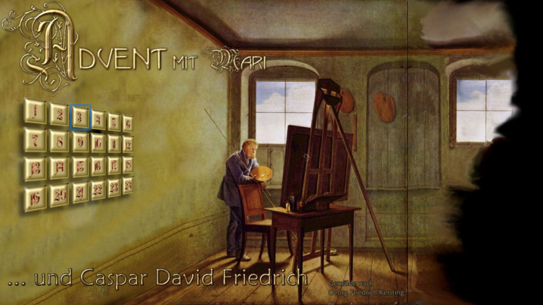 Advent mit Caspar David Friedrich