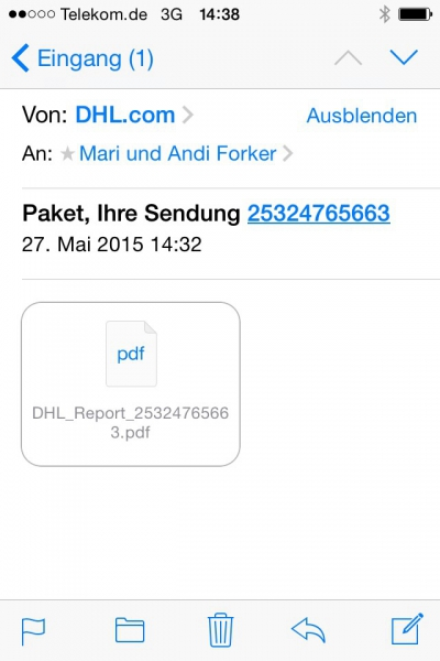 Spam Mails